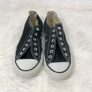 Converse Black Chuck Taylor All Star Low Top Shoes